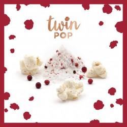 pop corn sel de Guérande et baies roses