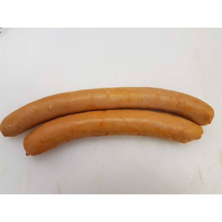 Saucisse à chauffer ou francfort ( 100 grammes )