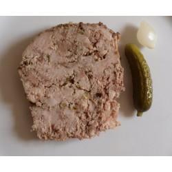 Pâté (foie, tête, campagne ou rillette) ( 200 grammes )