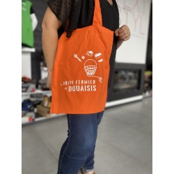 sac cabas orange