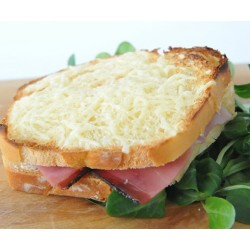 croque jambon fromage
