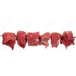 Viande pour brochette ( 500 grammes )
