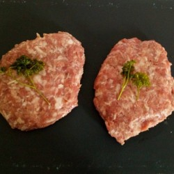steak haché savoyard de porc